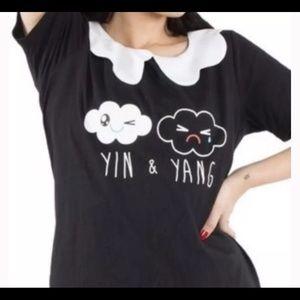 • IRON FIST | NWT | Yin + Yang Girly Tee •
